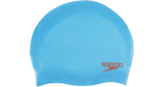speedo Plain Moulded Lapset uimalakki , sininen